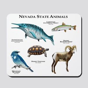 Nevada State Animals Mousepad
