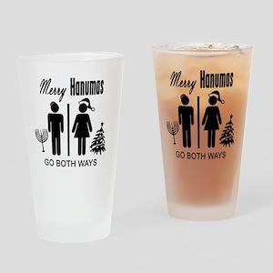 Merry Hanumas - Go Both Ways Drinking Glass