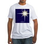 Christmas Star Fitted T-Shirt