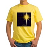 Christmas Star Yellow T-Shirt