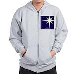 Christmas Star Zip Hoodie