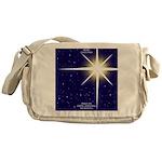 Christmas Star Messenger Bag