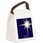 Christmas Star Canvas Lunch Bag
