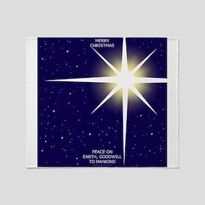 Christmas Star Throw Blanket