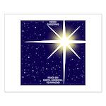 Christmas Star Small Poster