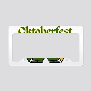 Oktoberfest License Plate Holder