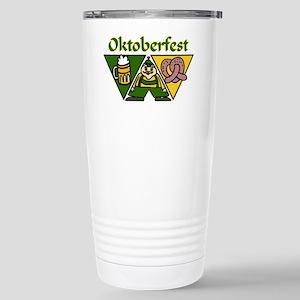 Oktoberfest Stainless Steel Travel Mug