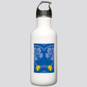 Manatee Flip Flops Stainless Water Bottle 1.0L
