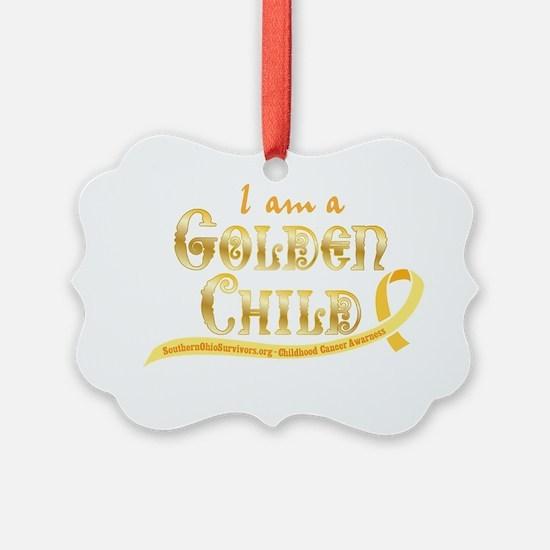 I am a Golden Child Ornament