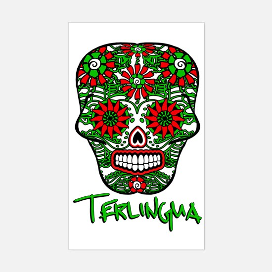 Terlingua Chili Pepper Sugar S Sticker (Rectangle)