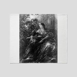 Nuit d'extase - Henri Fantin-Latour - 1894 Throw B