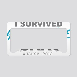 I Survived Hurricane Isaac License Plate Holder