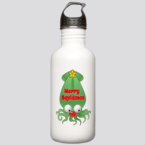 Merry Squidmas Stainless Water Bottle 1.0L