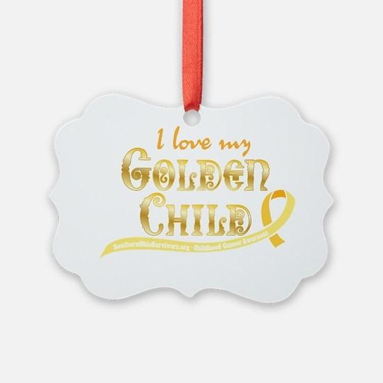 Love My Golden Child Ornament