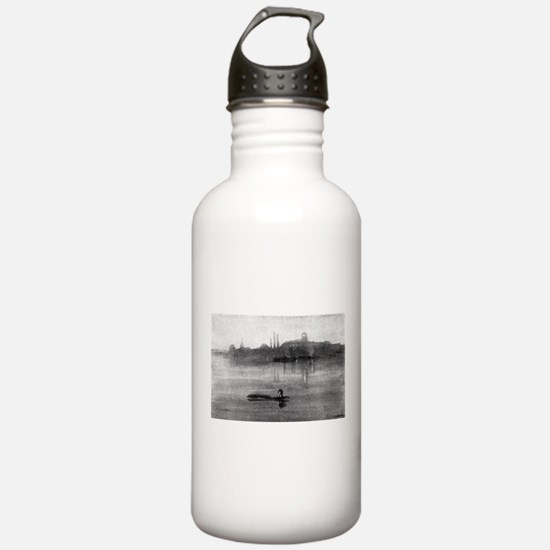 Nocturne - Whistler - 1878 Water Bottle