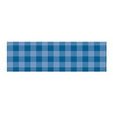 Plaid_Blue1_Large Wall Decal