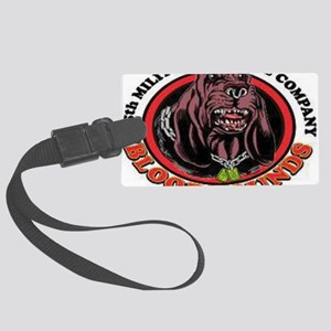615th Military Police Company Large Luggage Tag