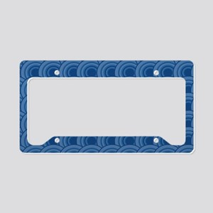 GeoScales_DarkBlue1_Large License Plate Holder