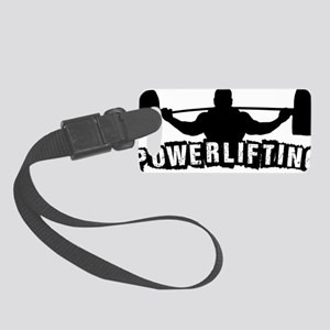 Powerlifting Small Luggage Tag