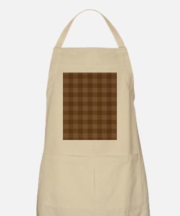 Plaid_Brown1_Large Apron