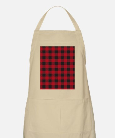 Plaid_Red1_Large Apron