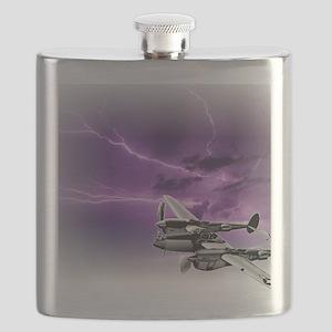 P 38 Lightning Flask