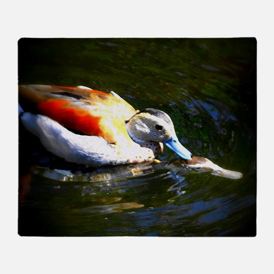 Duck Love Throw Blanket