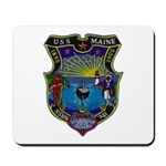 USS MAINE Mousepad