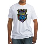 USS MAINE Fitted T-Shirt