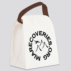 MIA Recoveries Org Logo Canvas Lunch Bag