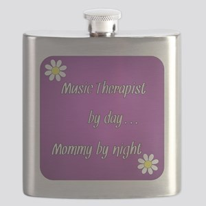 Music Therapist by day Mommy by night Flask