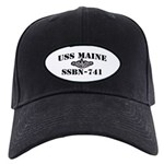 USS MAINE Black Cap