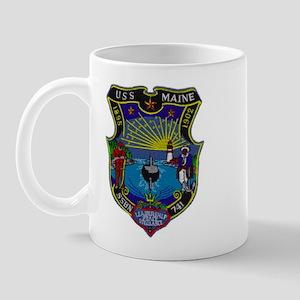 USS MAINE Mug
