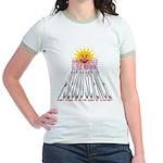 Global Warming Pseudoscience Jr. Ringer T-Shirt
