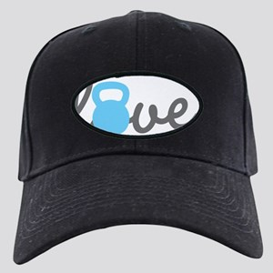 Love Kettlebell Blue Black Cap