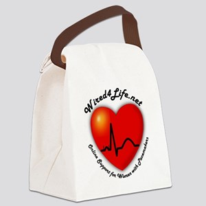 Wired4Life Canvas Lunch Bag