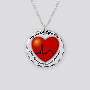 Wired4Life Necklace Circle Charm
