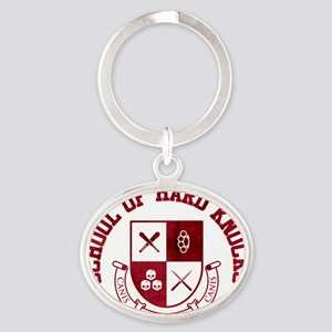 School of Hard Knocks - Red Oval Keychain