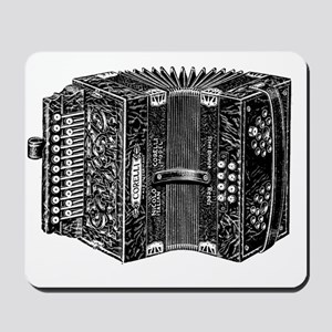 Vintage Accordion Mousepad