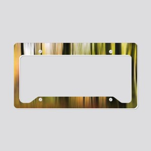 Colours of Autumn Forest License Plate Holder