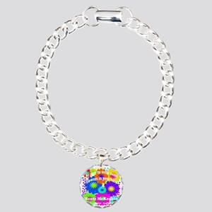 Be sure to wear some flo Charm Bracelet, One Charm