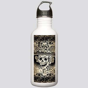 Vintage Catrina Calave Stainless Water Bottle 1.0L