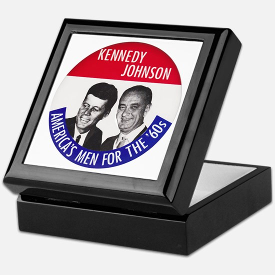 KENNEDY / JOHNSON Keepsake Box