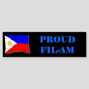 Proud Fil-Am #2 Gifts Bumper Sticker