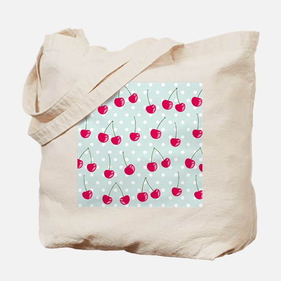 Cute Cherries Tote Bag