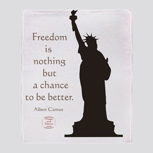 FREEDOM Throw Blanket