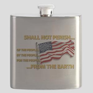 USA - Shall Not Perish Flask