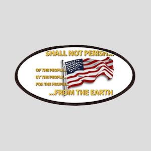 USA - Shall Not Perish Patches