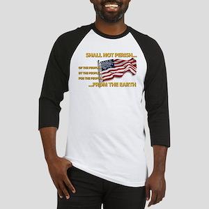 USA - Shall Not Perish Baseball Jersey