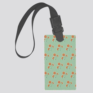 Journal Naila Floral Batik Large Luggage Tag